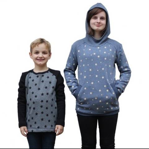 Chilly Sweater Kids Schnittmuster und Anleitung by Sewera