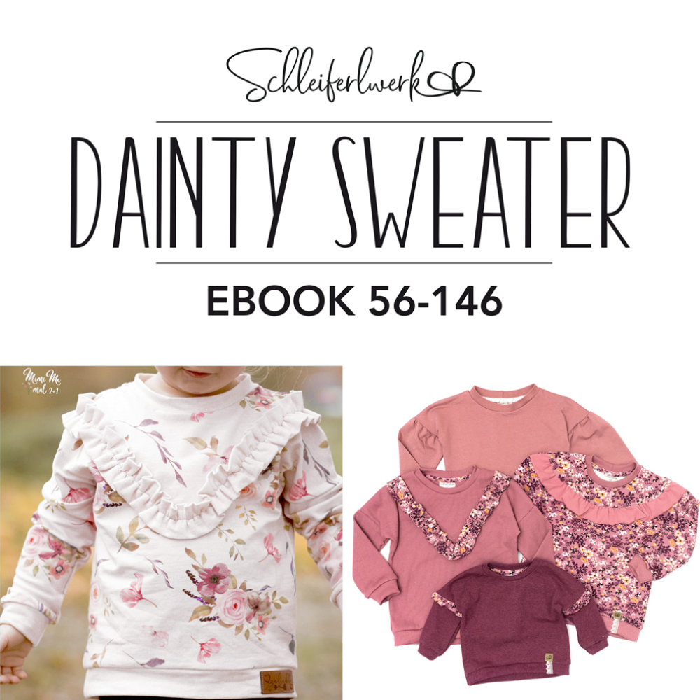 Dainty Sweater | Schleiferlwerk | eBook | 56-146