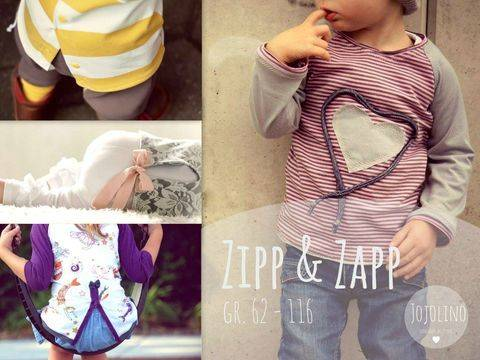 """Ebook """"Zipp&Zapp"""" Gr. 62- 116"""