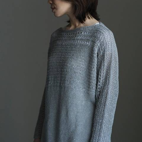 Yunagi tunic - hand knitting pattern