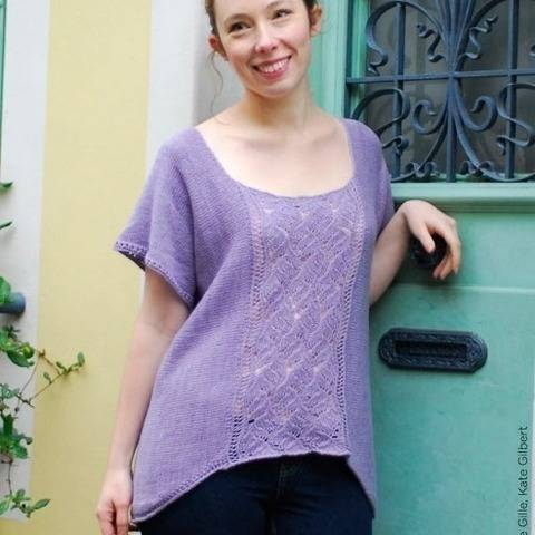 Peking - hand knitting pattern