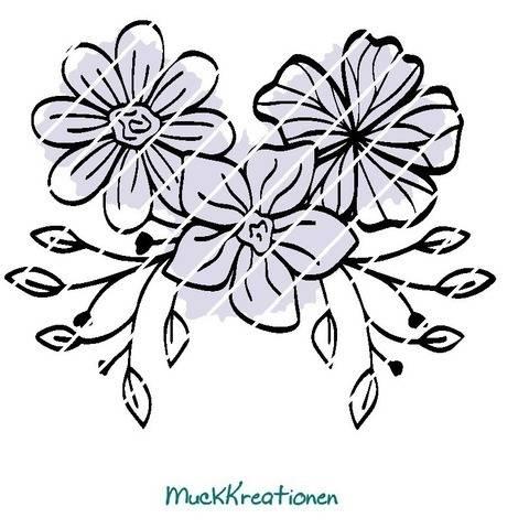 Plotterdatei Blume