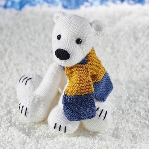 Polar Bear and Scarf