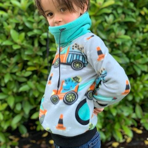 Sweatshirt for kids - 2 to 16 years - TITUS - OPTIONS