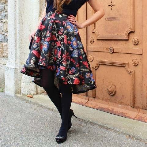 Skirt - PDF pattern for women - Intermediate - La Parisienne