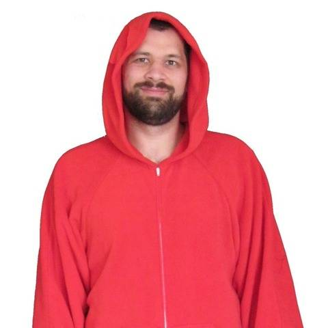Adult Onesie - v1 Hood & Pockets - Small - X Large
