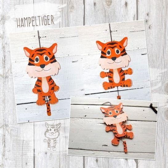"Hampelzoo ""Tiger"" - Bastelanleitung bei Makerist - Bild 1"