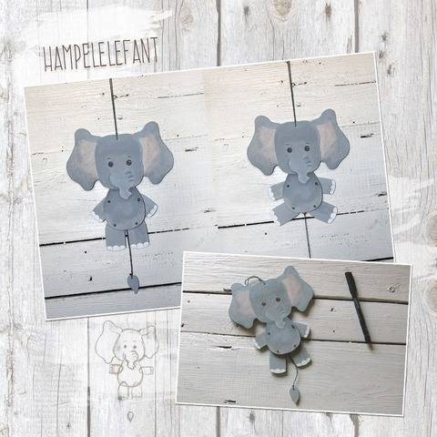 "Hampelzoo ""Elefant"" - Bastelanleitung"