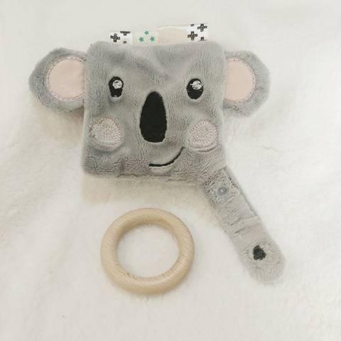 ITH Doudou plat koala - Fichier de broderie 13x18