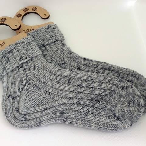 Cozy Ribs - toe up knitted socks