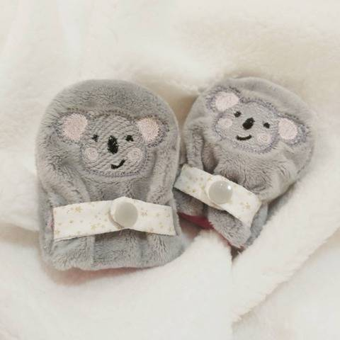 ITH - Baby mittens- 10x10 - 4x4 digital download