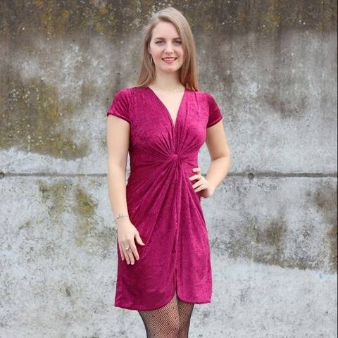 Twisted Dress sewing pattern and instructions by Sewera