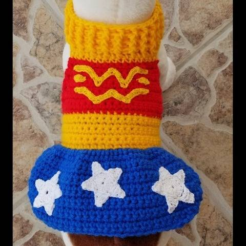 Wonder Dog Sweater