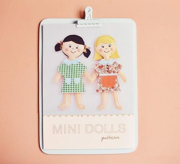 Minis Poupées - patron et tuto couture chez Makerist - Image 1