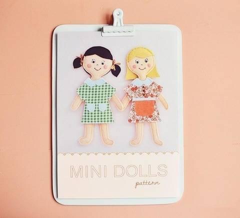 Minis Poupées - patron et tuto couture