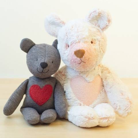 Teddy bear (small and large) stuffed toy sewing pattern