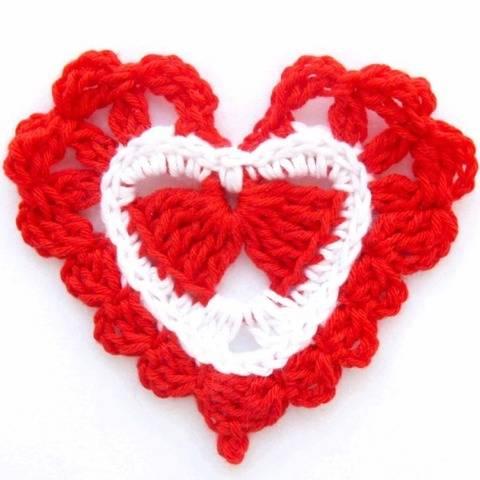 Heart Crochet Pattern e-book PDF file Instant Download