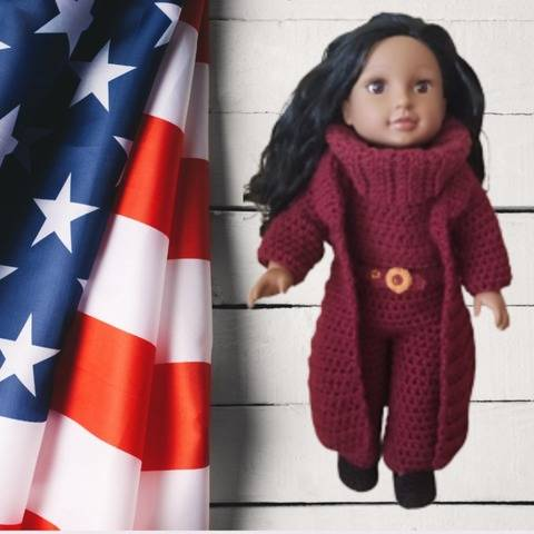 """18"""" Michelle Obama Inauguration Outfit"""