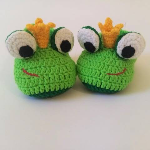 Baby shoes Frog