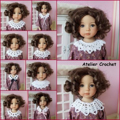 """Model Little Girl"" crochet pattern for Little Darling"