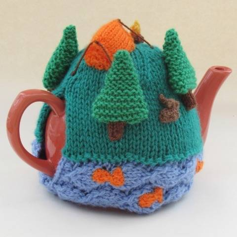 Campsite Tea Cosy Knitting Pattern