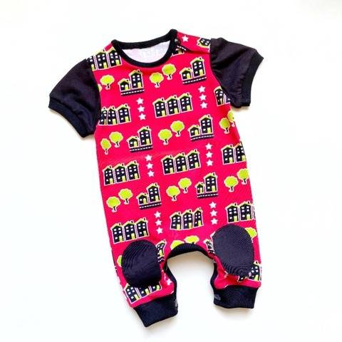 Baby romper playsuit jumpsuit sewing pattern