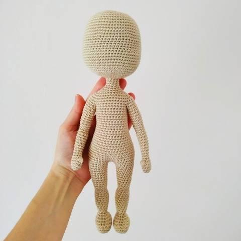 Puppenkörper Häkeln Anleitung