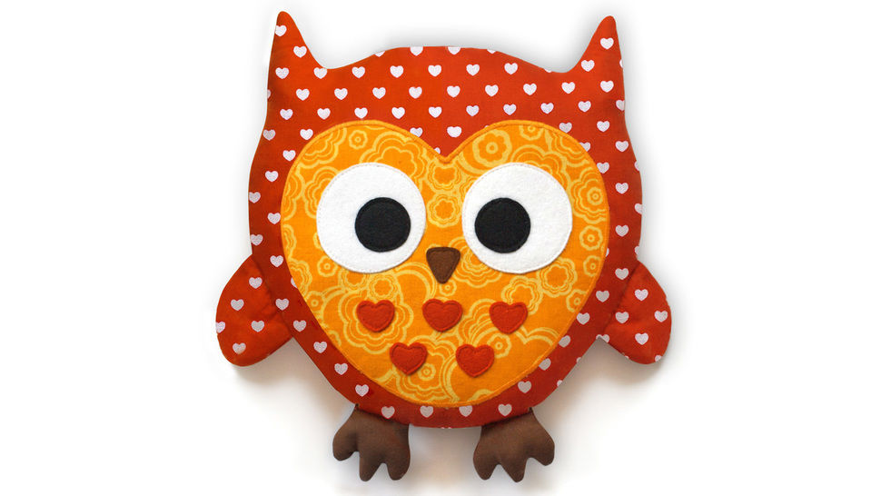 Owl sewing pattern pdf - ENGLISH version bei Makerist - Bild 1