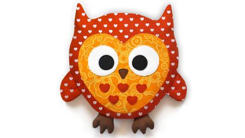Owl sewing pattern pdf - ENGLISH version