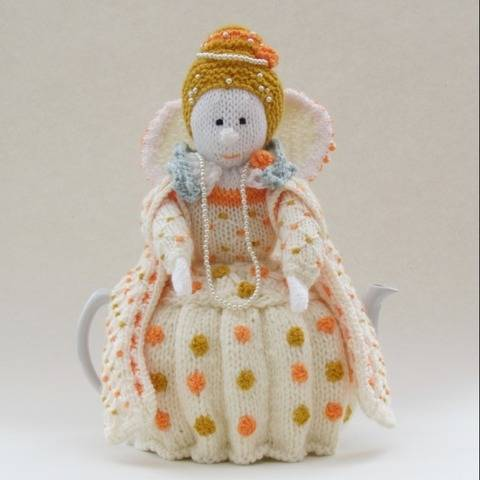 The Virgin Queen Tea Cosy Knitting Pattern