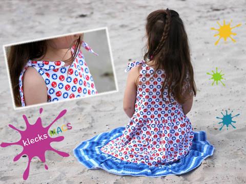 Nähanleitung / E-Book Mädchen Kleid *Sunshine* bei Makerist
