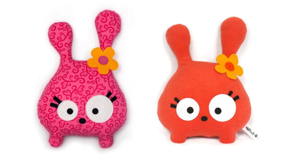 Tumsy the bunny sewing pattern pdf - ENGLISH version bei Makerist - Bild 1