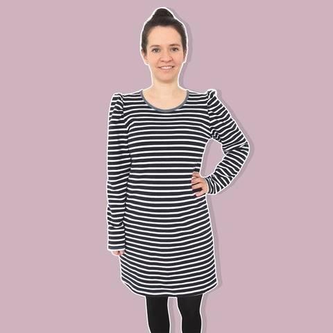[Basic] Kleid aus Sommersweat A-Linie