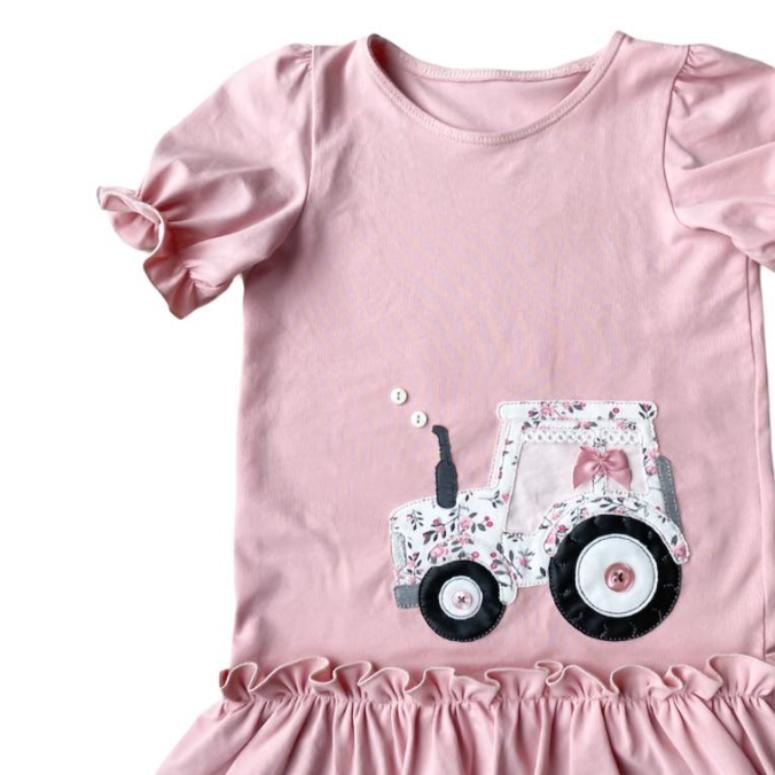 Stickdatei Traktor Doodle Set