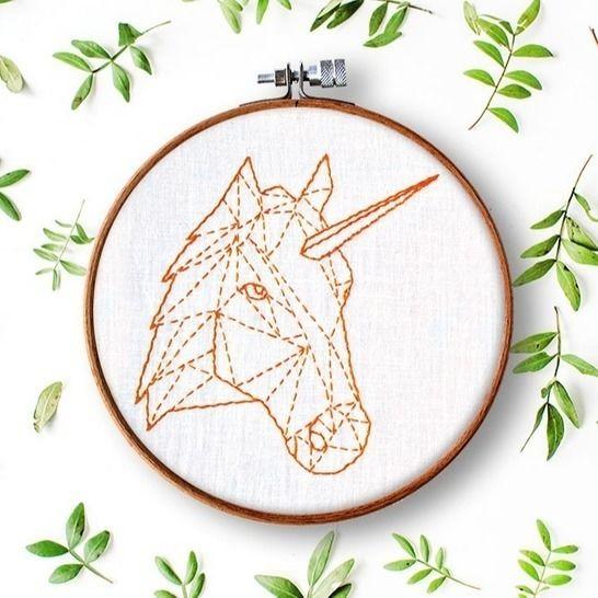 Einhorn & Pferd Geometrie bei Makerist - Bild 1
