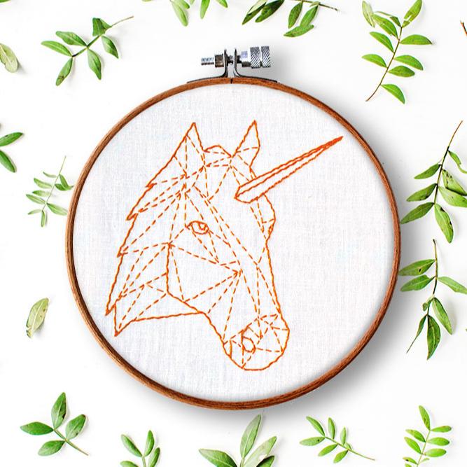 Einhorn & Pferd Geometrie