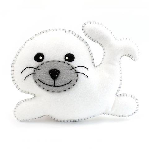 Seal Hand Sewing Pattern