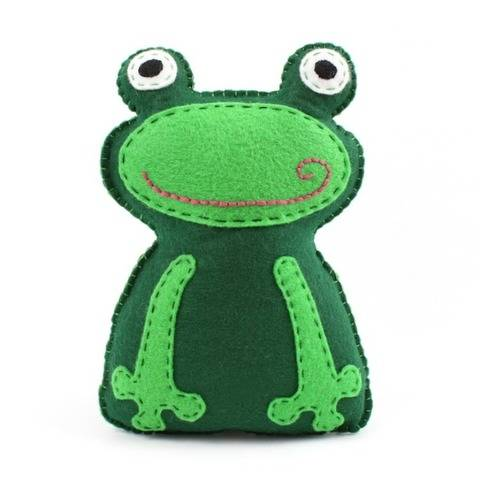 Frog Hand Sewing Pattern