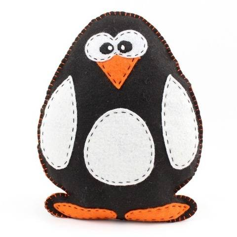 Penguin Hand Sewing Pattern
