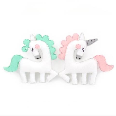 Horse or Unicorn Hand Sewing Pattern