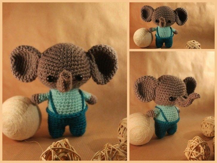 "Häkelanleitung ""Elefantino"" bei Makerist - Bild 1"
