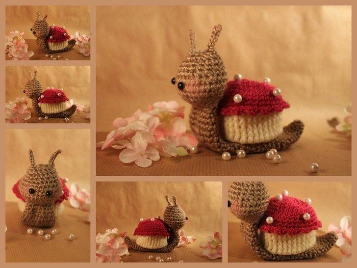 """Häkelanleitung """"Schlemmerschnecke Cupcake"""" bei Makerist - Bild 1"""