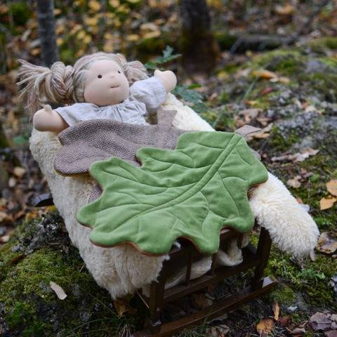 Doll Leaf Blanket - Euro Collection - PDF Pattern