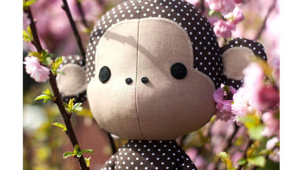 Cute monkey sewing pattern - ENGLISH version bei Makerist - Bild 1