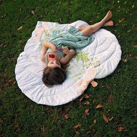 Leaf Blanket - NZ Collection - PDF Pattern