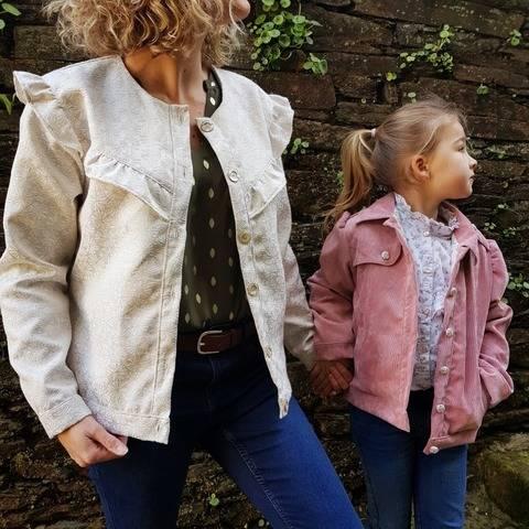 Veste Ael duo femme/enfant du 2 ans au 56