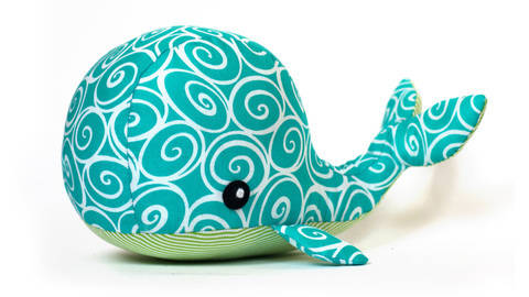 Whale sewing pattern - ENGLISH version