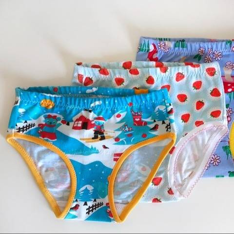 Girls panties underwear undies sewing pattern