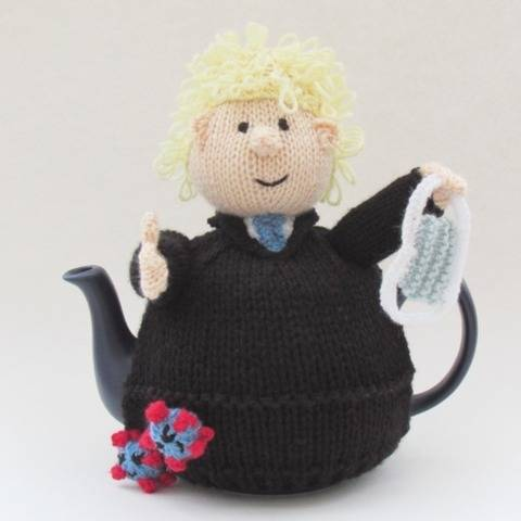 Boris Johnson Tea Cosy Knitting Pattern