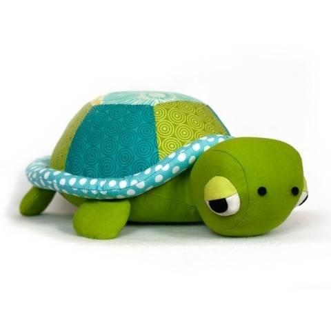 Turtle Tortoise sewing pattern - ENGLISH version